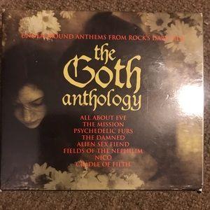 3 dish goth anthology and nightwish wishmaster cds